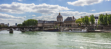 Paris, Pont de Arts Royalty Free Stock Photos