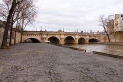 Paris.  Pont de la Concorde. Royalty Free Stock Photography