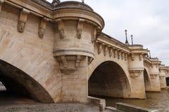 Paris.  Pont de la Concorde. Royalty Free Stock Photos