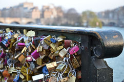 Paris Pont des Arts photos libres de droits