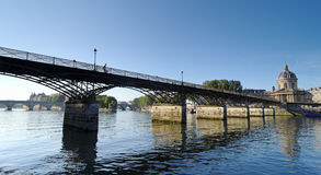 Paris, pont des arts bridge Stock Photos