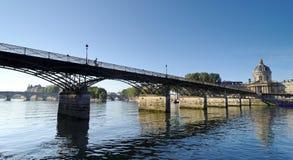 Paris, pont des arts bridge Stock Photos