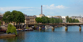 Paris - Pont des Arts Royalty Free Stock Photography