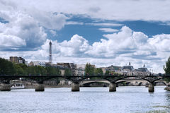 Paris - The Pont des Arts stock photo