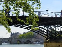 Pont des Arts Royalty Free Stock Images