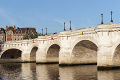 Paris, pont neuf bridge Stock Images