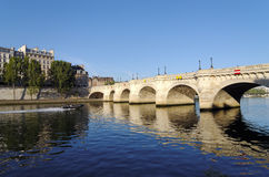 Paris, pont neuf bridge Stock Image