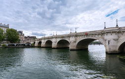 Paris - The Pont Neuf stock images