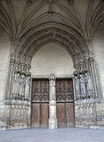 Paris - portal of Saint Germain-l'Auxerrois Stock Photography