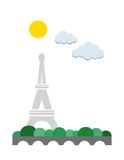 Paris poster Royalty Free Stock Images