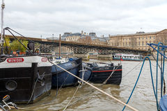 Paris. Promenade along the Seine. Royalty Free Stock Images
