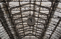 Paris railway station Gare de l'Est Royalty Free Stock Images