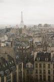Paris in rain Stock Image