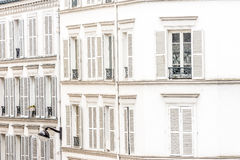 Paris real estate. Close to The Basilica of the Sacred Heart stock photography