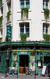 Paris Restaurant Stock Images