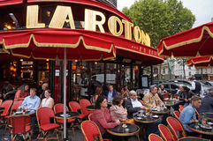 Paris Restaurant Royalty Free Stock Photography