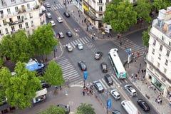 Paris Rie de Rivoli Stock Photography