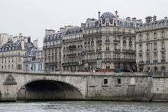 Paris and the river Seine Royalty Free Stock Photography