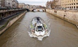 Paris. The River Seine. Stock Images