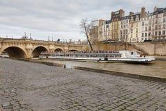 Paris. The River Seine. Stock Image