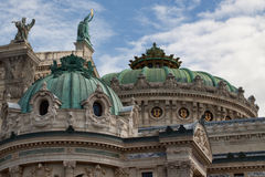 Paris-Roof of the Opera Garnier Royalty Free Stock Photos