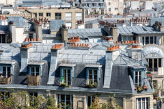 Paris roofs and building cityview Royalty Free Stock Photo