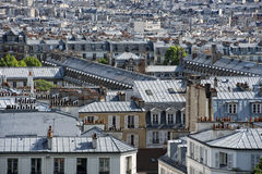 Paris roofs and cityview Royalty Free Stock Photo