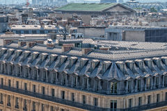 Paris roofs and cityview Stock Photo