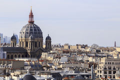 Paris roofs Stock Photography
