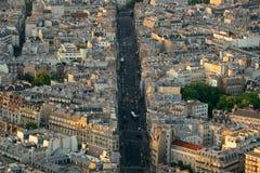 Paris rooftop Stock Photos