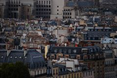 Paris rooftops Royalty Free Stock Image