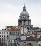 Paris rooftops Pantheon Royalty Free Stock Image