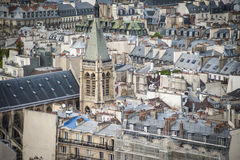 Paris seen from above Royalty Free Stock Photography
