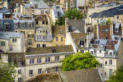 Paris seen from above Stock Image