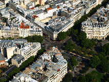 Paris rooftops Royalty Free Stock Images