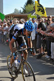 Paris Roubaix 2011 - winner Van Summeren. Johan Van Summeren winning Paris Roubaix 2011 Royalty Free Stock Photos