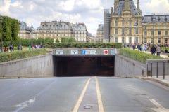 paris Route Photo libre de droits