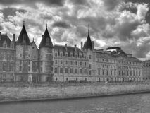Paris - the royal palate of Conciergerie Royalty Free Stock Image