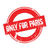 Only For Paris rubber stamp Royalty Free Stock Photography