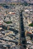 Paris rue de Rennes Royalty Free Stock Images