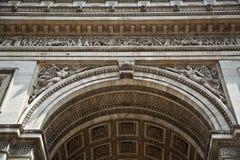 Paris's Arc de Triomphe Royalty Free Stock Photos