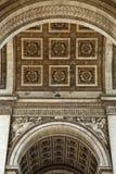 Paris's Arc de Triomphe Stock Photography