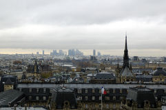 Paris`s district CITY.v Stock Photos