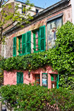 The Lapin Agile. Paris's historical Lapin Agile cabaret for artists Stock Photo