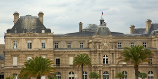 Paris's Luxembourg Palace Royalty Free Stock Image