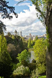 Paris's Parc de Buttes-Chaumont Stock Image