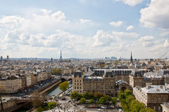 Paris's sky line 2 Stock Photo