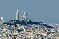 Paris and Sacré-C�ur Stock Photo