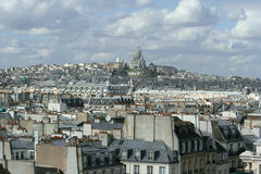 Paris Sacre Coeur Royalty Free Stock Photo