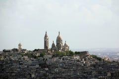 Paris_sacre coeur Zdjęcie Stock
